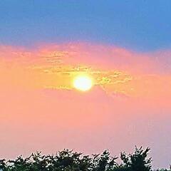 空/夕陽 🌴🌺🍧SUMMER🍧🌺🌴  ☀️今日の夕…