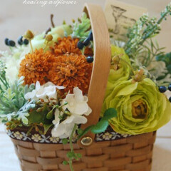 造花/造花アレンジメント/インテリアフラワー 造花アレンジメント♪