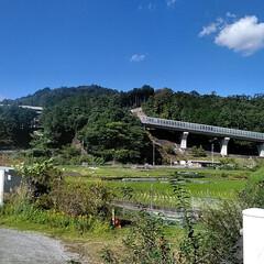 スノーピーク/秋晴れ/自然/山/景色