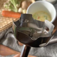 コードレス充電式ハンドブレンダー RHB-100J | クイジナート(その他調理用具)を使ったクチコミ「Cuisinartコードレス充電式ハンド…」(4枚目)