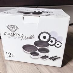 フライパン/アイリスオーヤマ/購入品 アイリスオーヤマ  ダイヤモンドコートパ…