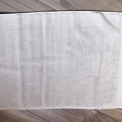 バスマット/ニトリ/購入品/お風呂/シンプル/モノトーン ニトリの珪藻土バスマットから同じニトリの…(3枚目)