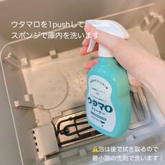 ウルトラクリーン/洗って使えるペーパータオル/ウタマロクリーナー/念入り掃除/食洗機用洗剤/食洗機洗剤/... 今日は食洗機の念入り掃除です! ここの…(2枚目)