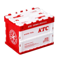 KTC/荷物整理/折りたたみコンテナ KTC、車内の荷物整理に便利な「折りたた…