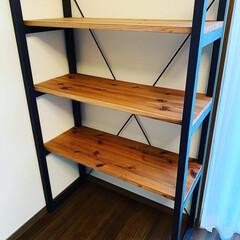 DIY/棚 製作費3500円で作りました👌 ブログで…