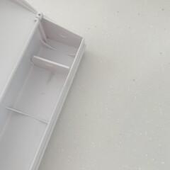仕切り/仕切り板/ホワイト収納/ラップホルダー/収納/ラップ収納/... ラップ収納𓂃𓈒𓏸 こちらのラップホルダー…