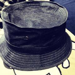 100均リメイク FLET'Sで買った夫の帽子  訳あり特…(1枚目)