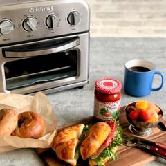 クイジナート/cuisinart/クイジナートのある生活/クイジナートLOVE/クイジナートノンフライトースター/おうちカフェ/... \新緑の季節におすすめのサンドイッチスタ…(1枚目)
