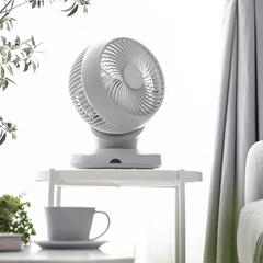 AND_DECO/ANDDECO/アンドデコ/サーキュレーター/扇風機/空気循環/... お部屋の隅々まで爽やかな風を運ぶ「360…(1枚目)