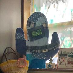 材料費0円/DIY/ハンドメイド サボテンオブジェ🌵 ダンボールにハギレ貼…