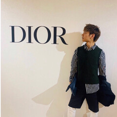 Diorとは程遠い全身1万円以下コーデ/ファッション 三男くんのLINEアイコン写真 なんか …