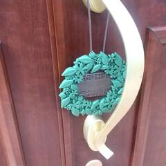 バルサン/虫除けグッズ/虫よけプレート/虫対策/虫よけ/暮らし 玄関のドアに虫よけプレートを引っ掛けて虫…