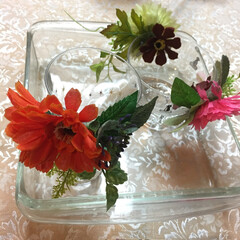 「祖母の100均DIY。 さすがお花の先生。」(1枚目)