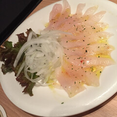 カレイ/カルパッチョ カレイのカルパッチョ!! 美味し!!