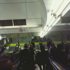 駅 駅の階段もフィルター機能があればなんとな…