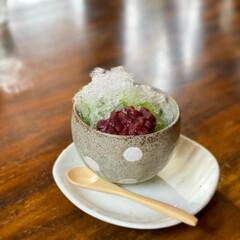 かき氷/スイーツ/カフェ/カフェスイーツ/カフェ巡り 冷たいものが美味しい季節になりましたね!…(2枚目)