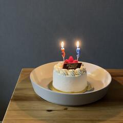 誕生日/誕生日ケーキ/ケーキ/お菓子/いちご/イチゴ/... 家族の誕生日でした🎂✨(1枚目)