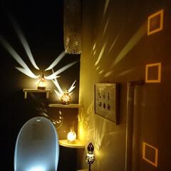 トイレ 我が家のトイレは真っ暗なまま入ります。 …