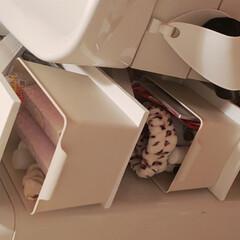 棚/洗面所/バス/作業部屋/ハンドメイド/DIY/... 洗濯機横のデッドスペースを有効活躍しよう…(5枚目)