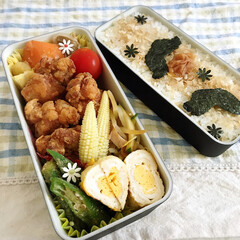 お弁当/キッチン/レシピ ヒゲ海苔はフタに貼り付いていて気づかなか…