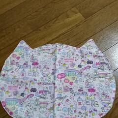 ハンドメイド 🍙ランチマット(リバーシブル)猫の形…(2枚目)