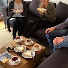 Käsekuchen/レアチーズケーキ/スイーツ/フード/ハンドメイド 【Heidiのティーパーティ】  先週末…