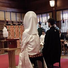 明治神宮/Hochzeit/wedding/結婚式 3月30日は結婚式から一年の記念日でした…