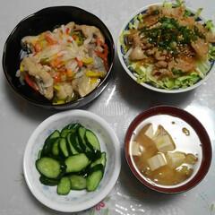 LIMIAごはんクラブ/おうちごはんクラブ 今日の我が家の晩御飯🌃🍴  #豚丼🐷 #…
