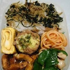 「今日のお弁当🍱  #卵焼き🥚 #ズッキー…」(1枚目)