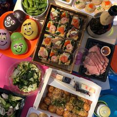 ポテトサラダ/押し寿司/ピクニック/花見/パーティー/ホームパーティー/... パーティーメニュー☆備忘録