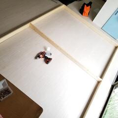 内窓DIY/DIY/インテリア/建築 内窓計画4  やっと、リビングの一番大き…