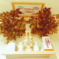 神棚 神棚の榊 毎月1日に取り替えて 夏場の枯…