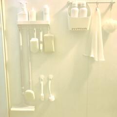 浴室・風呂/住まい バスルーム 何も置かない方が 綺麗✨スタ…