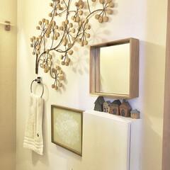 ポスター/トイレ/インテリア トイレの壁へ 明るい印象のポスターを♡ …