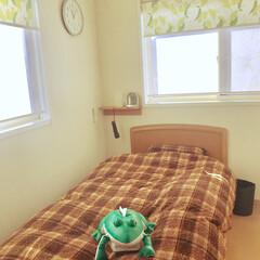 息子の部屋/ベッドメイキング/インテリア 息子の部屋 本格的な冬へ向けて ベッドメ…