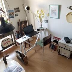 リビング/テーブル/デスク/ベンチ/棚/テレビボード/... 春らしいコーディネート 花やグリーンが楽…(3枚目)