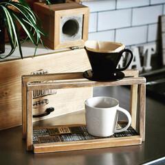 カフェ/ドリッパー/キッチン雑貨/DIY/100均 コーヒードリッパーDIY  2個同時にド…