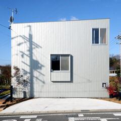 住まい/建築/外構/外壁/新築/木造 本庄の家 - 外観 - ガルバリウム鋼板