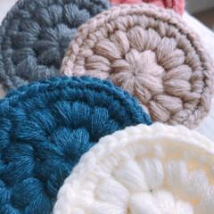 編み物/アクリルたわし/雑貨/掃除/暮らし/家族でおうち掃除 アクリルたわし。  隠さなくていい、むし…