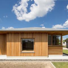 建築/住まい/平屋/設計事務所/愛知/名古屋/... 大屋根に包まれた平屋の住まい