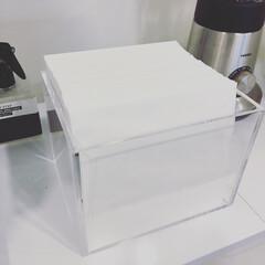 シンデレラフィット/無印良品/収納 CHEMEXのコーヒーフィルターが無印の…