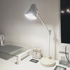 照明器具/おしゃれ/オシャレ/ルームライト/インテリア/イケア/... イケアで買ったライトです。これが灯る夜更…(2枚目)