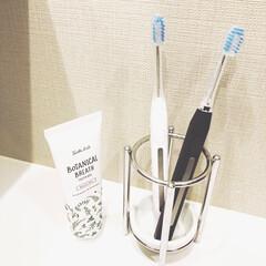 キスユー イオン 音波電動歯ブラシ イオンパ home ホワイト + ワイドヘッド4P S151(電動歯ブラシ)を使ったクチコミ「「IONPA」というイオン歯ブラシを夫婦…」