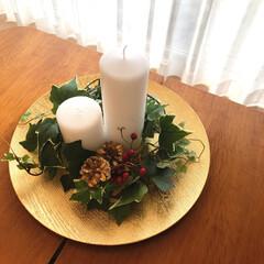 テーブルコーディネート/2018/フォロー大歓迎/冬/ハンドメイド/雑貨/... 大晦日にやっとクリスマスツリーを片付けま…