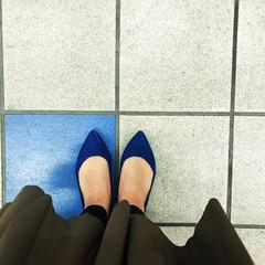 マシュマロパンプス/靴/パンプス/GU/フォロー大歓迎/ファッション GUのマシュマロパンプスがすごく履きやす…