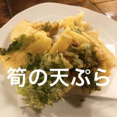 タケノコ/たけのこ/筍/天ぷら/平成最後の一枚/フォロー大歓迎/... 昨日は、宮崎から届いたばかりだというフレ…