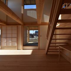 木組み/土壁/石場建て/伝統工法/和風 松丸太