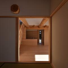 木組み/土壁/石場建て/伝統工法/和風 和室
