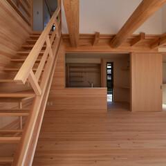 木組み/土壁/石場建て/伝統工法/和風 渡り顎