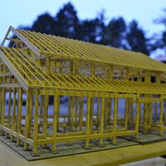 石場建て/土壁/伝統工法 Scale 1:20